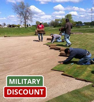Military Discounts For Sod Purchases